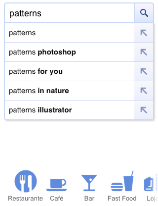 Web Design Patterns for Mobile Devices